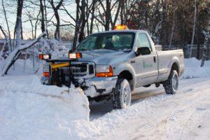 commercial truck snowplow leasing